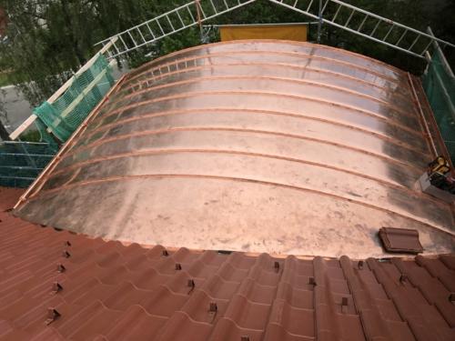 Rundgaube Kupfer