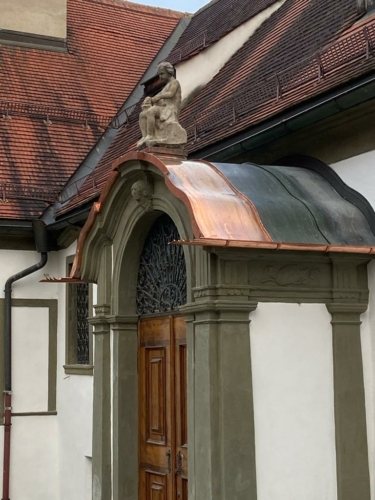Blechdach Doppelstehfalz Historische Sanierung